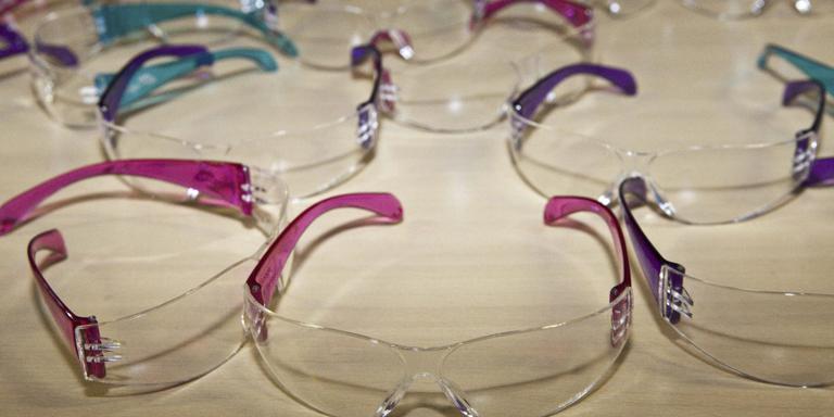 Vuurwerkbril verkrijgbaar in Friese ziekenhuizen