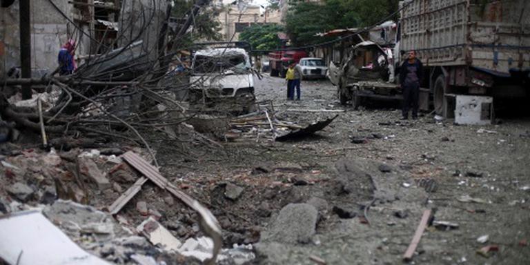 Evacuatie strijders Damascus stokt