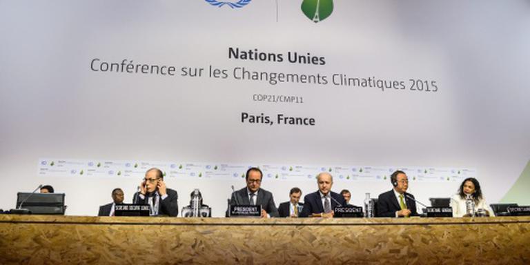 Klimaatverdrag vrijdag ondertekend