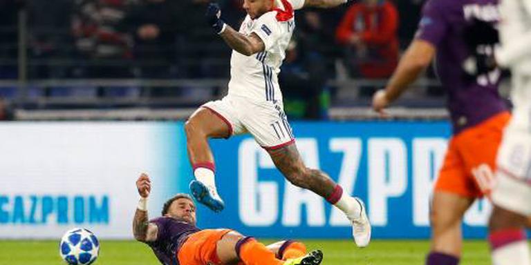 Lyon thuis niet langs Stade Reims
