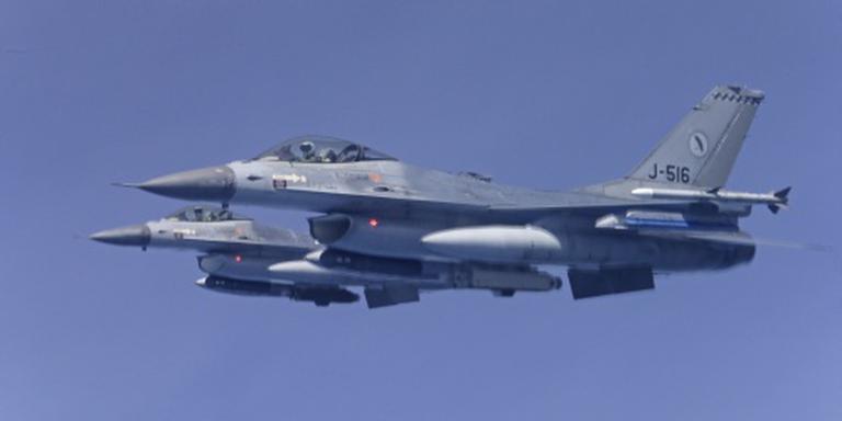 F-16's. FOTO ANP
