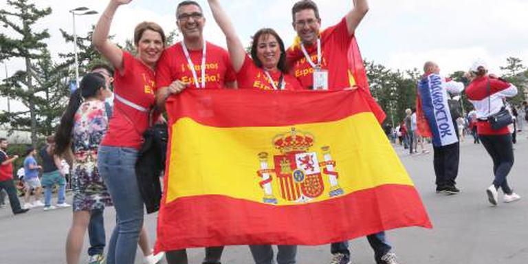 Spanje zonder Iniesta tegen Rusland