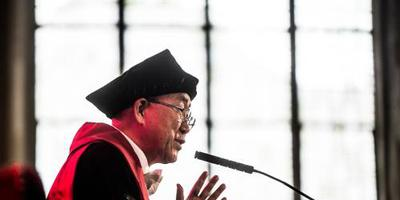 Gronings eredoctoraat voor Ban Ki-moon