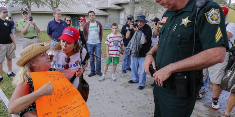 Protesten tegen Trump overwegend vreedzaam