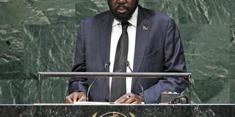 President Kiir gelast staakt-het-vuren