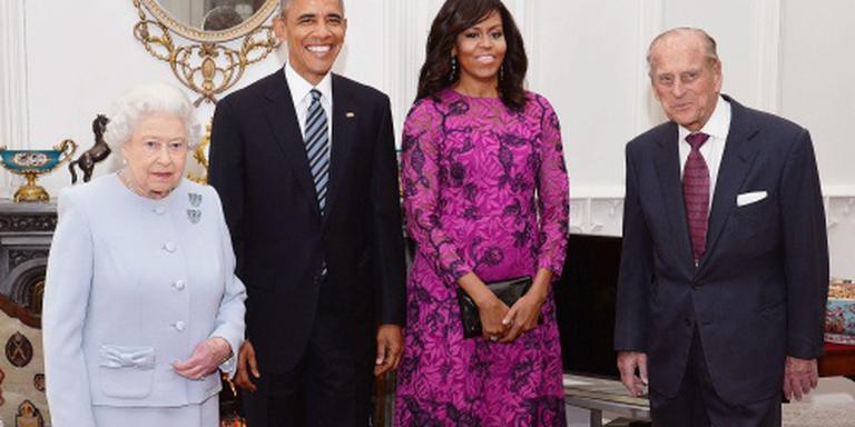 Obama bij jarige 'Queen'