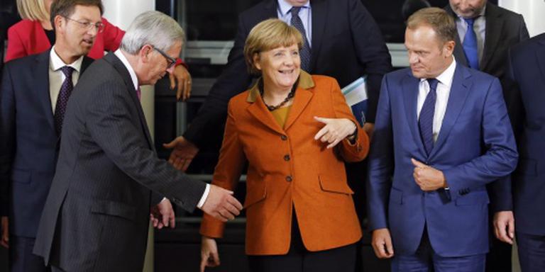 Tusk, Timmermans en Merkel naar Turkije