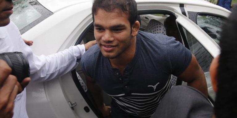 Worstelaar Yadav mist Spelen door schorsing