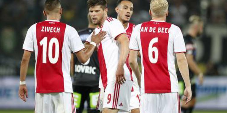 Van de Beek baalt van bijrol bij Ajax