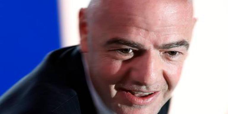 FIFA-voorzitter Infantino is herkiesbaar