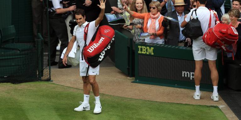 Federer mist Spelen en rest van seizoen