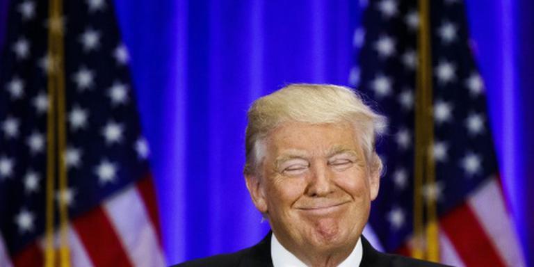 Republikeinen hijsen Trump op het schild