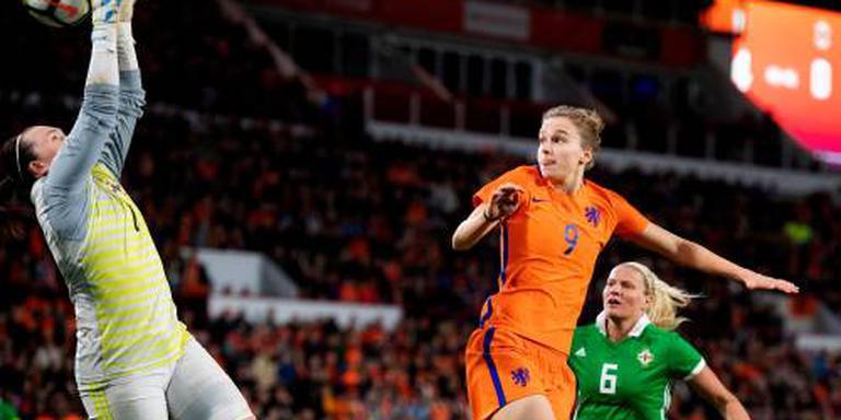 Voetbalsters zonder Miedema in WK-kwalificatie
