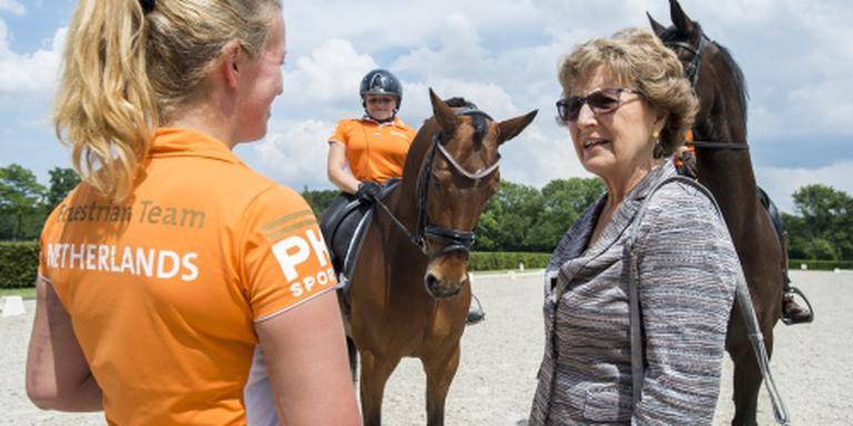 Prinses Margriet naar paralympische sporters