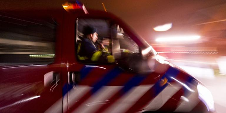 Grote brand in loods Andel