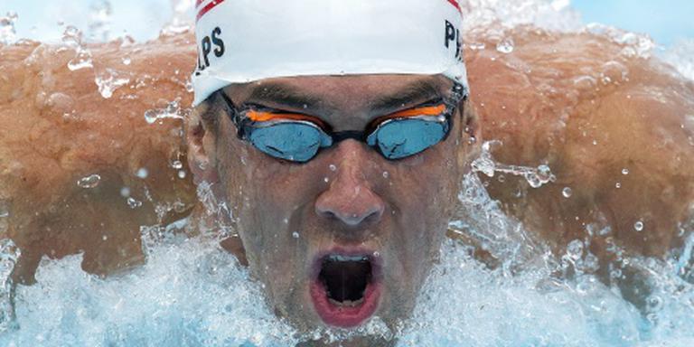 Phelps op drie afstanden actief in Rio