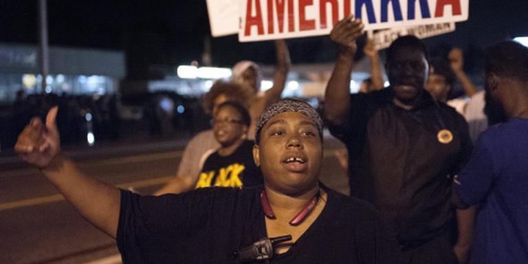 Zwarte politiechef geeft leiding in Ferguson