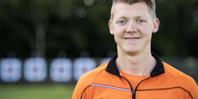 Boogschutter Van den Berg naar kwartfinales