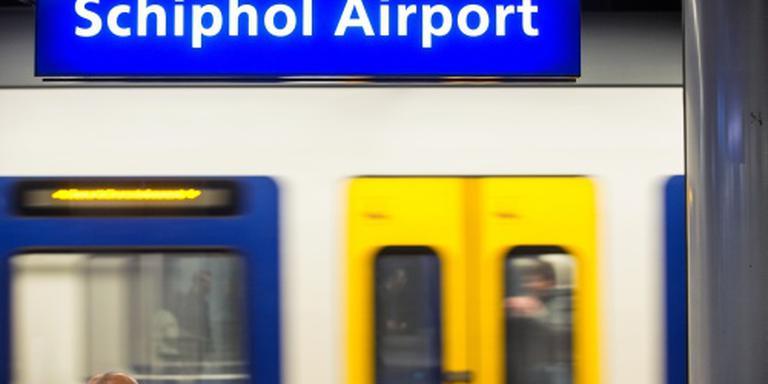 Minder treinen rond Schiphol door seinstoring