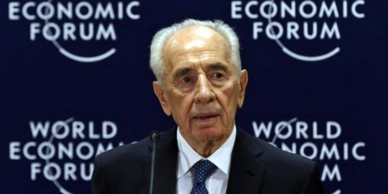 Oud-president Peres opnieuw in het ziekenhuis