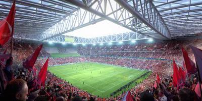 Nieuw stadion Feyenoord pas in 2024 klaar