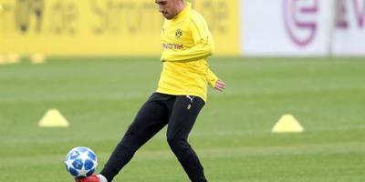 Alcácer bij Dortmund onzeker voor Atlético