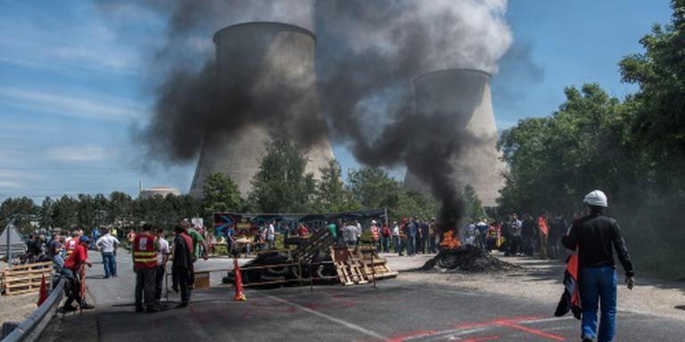 Franse brandstofopslagplaatsen ontzet