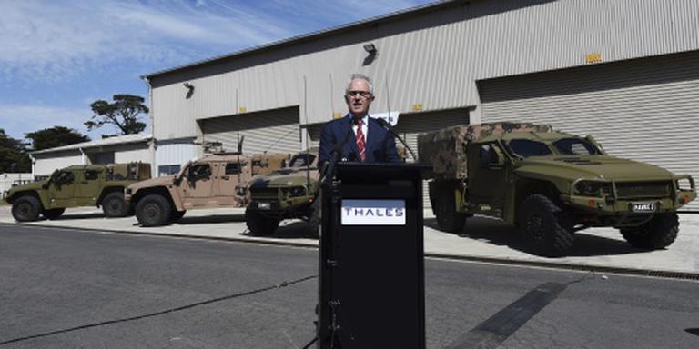 Australië investeert miljarden in krijgsmacht