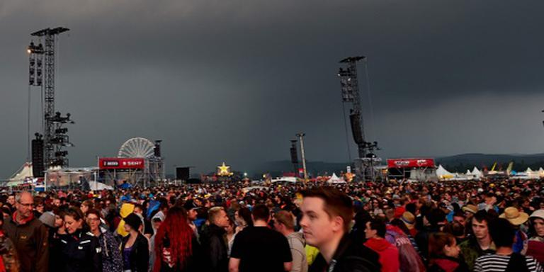 Gewonden na blikseminslag Rock am Ring