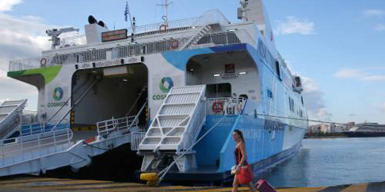 Staking Griekse ferry's