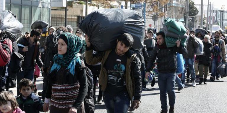 Griekenland slaat alarm om vluchtelingen