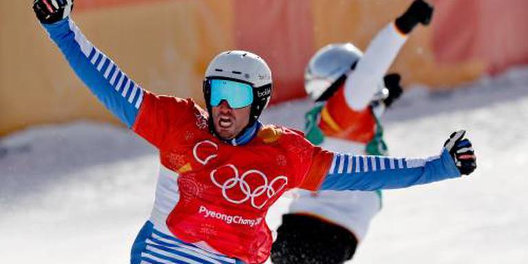 Vaultier weer de beste op snowboardcross