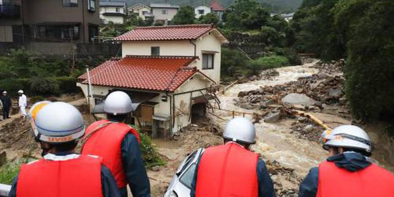 Dodental zware regenval Japan loopt verder op