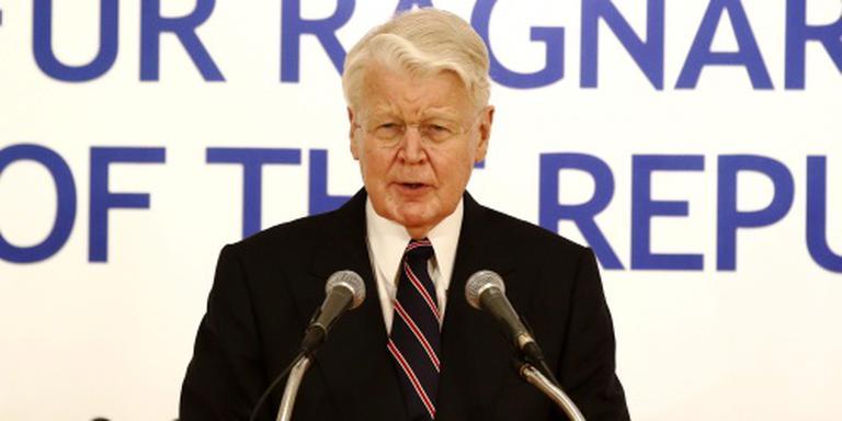 IJslands president na 20 jaar weg