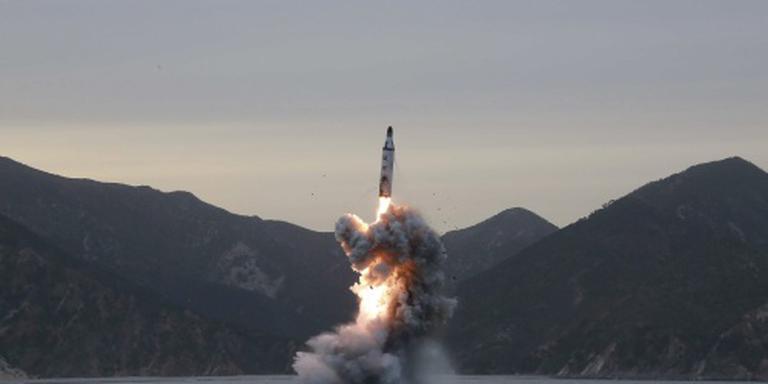 Noord-Korea test raket vanaf duikboot