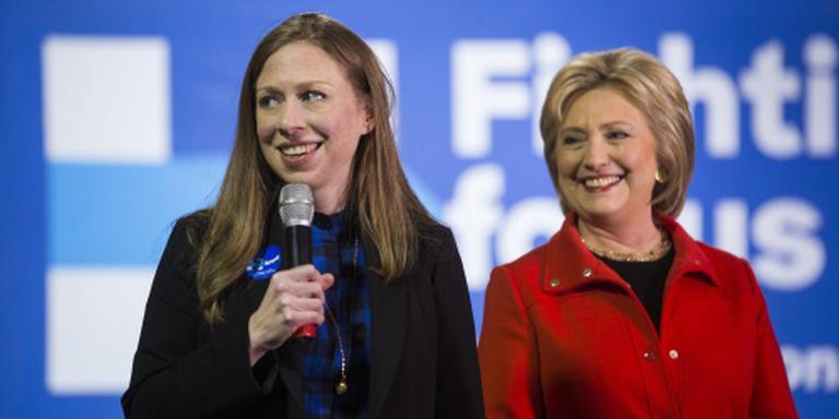 Hillary Clinton weer oma