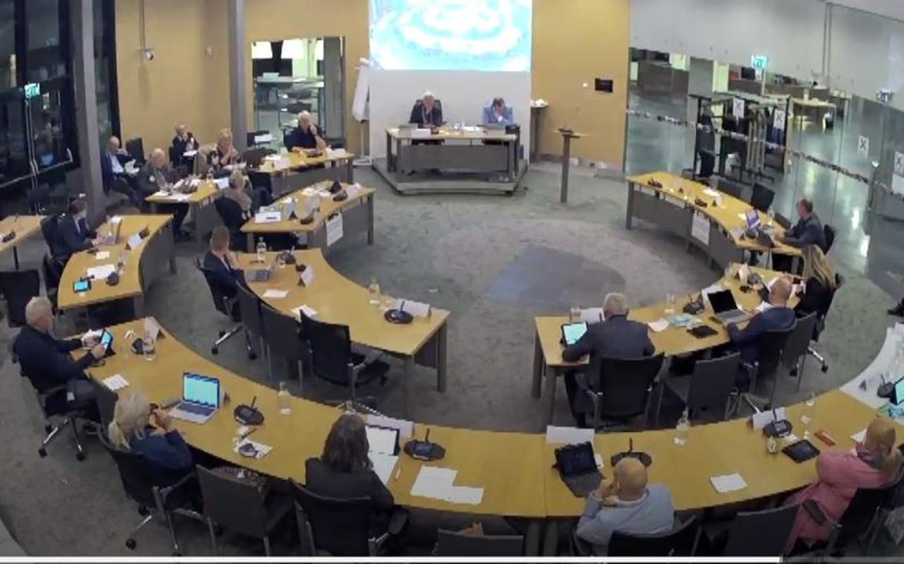 Een raadsvergadering in Smallingerland.