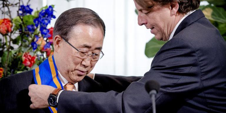 Hoge onderscheiding voor VN-topman