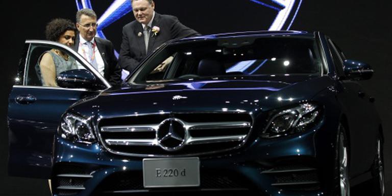 Daimler verkoopt meer auto's maar winst daalt