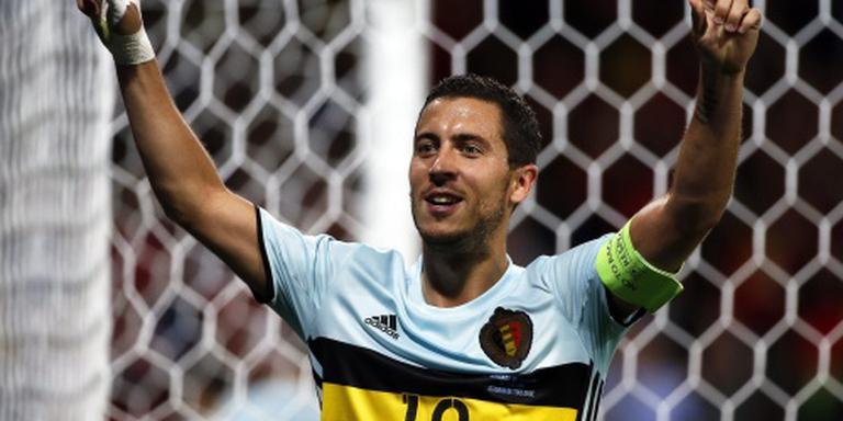 Hazard traint weer met Belgen