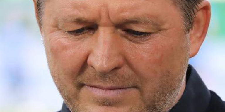 Gedegradeerd HSV blijft trainer Titz trouw