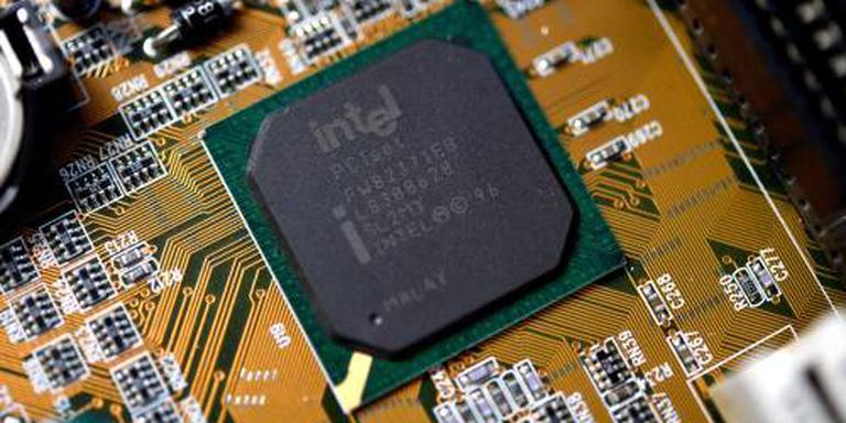 Chipgigant Intel boekt opnieuw recordomzet