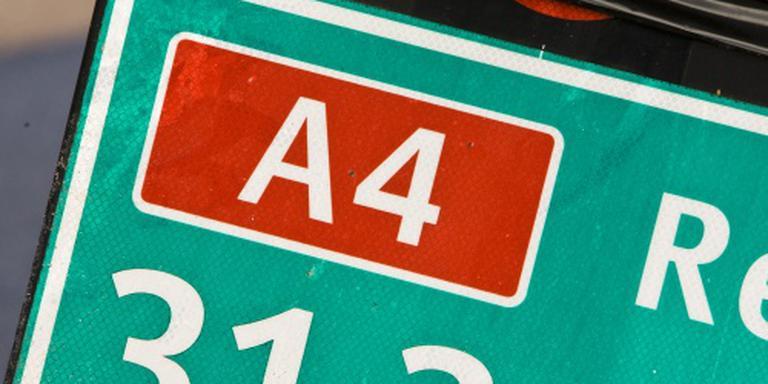 A4 dicht bij Ypenburg na ongelukken