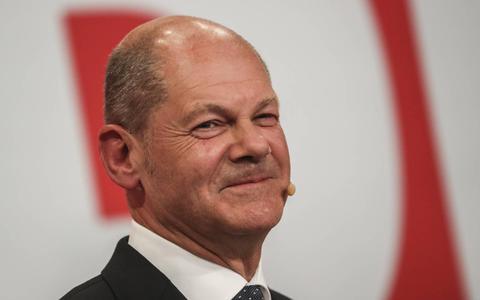 SPD-leider Olaf Scholz.