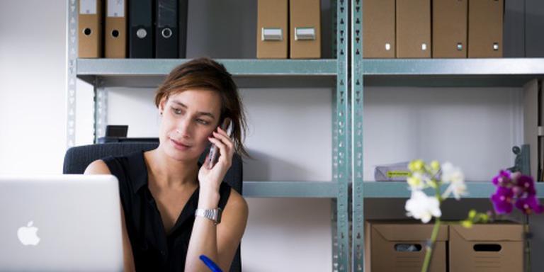 Vrouwelijke ondernemer is in opmars