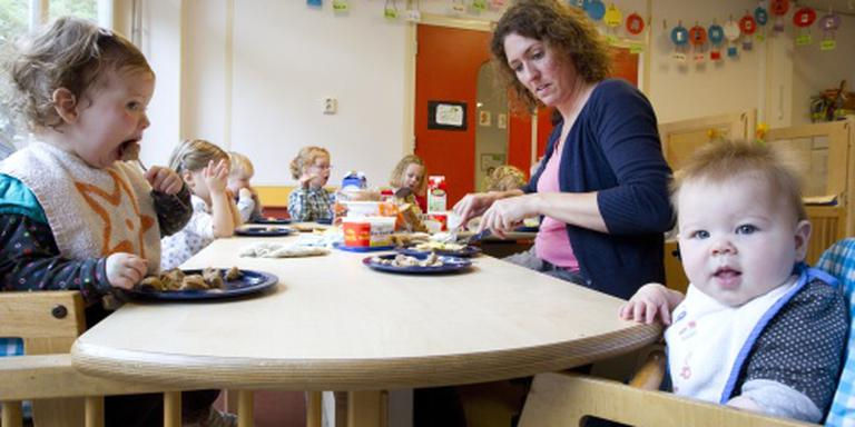 Nederlandse kinderen vaakst naar opvang