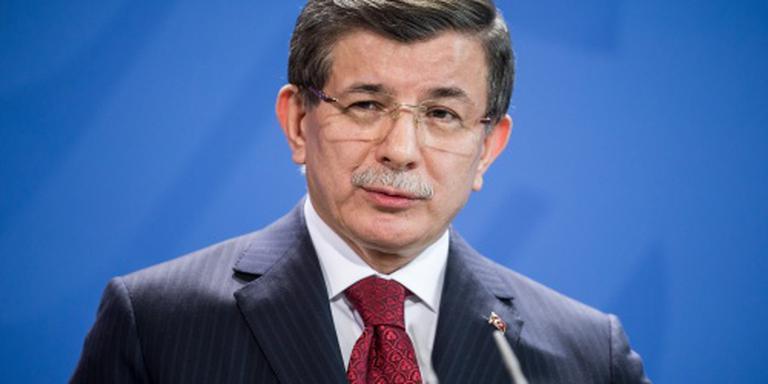 Premier Turkije bij Rutte over vluchtelingen