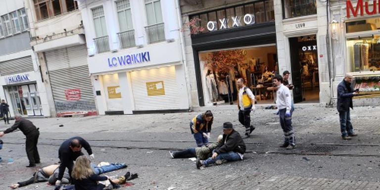 Ieren onder gewonden aanslag Istanbul
