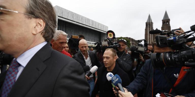 Yuri van Gelder aangekomen bij rechtbank
