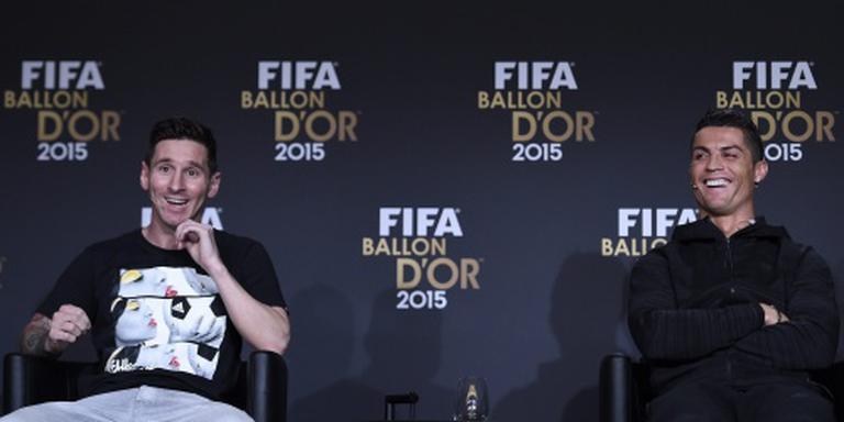 Ronaldo benijdt Messi om zijn linker